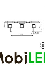 WAS 227 Serie Achterlicht 4 functies en reflector