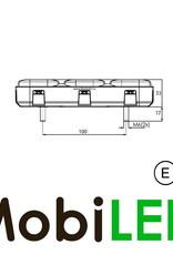 WAS 227 Série Feu arrière 4 fonctions et réflecteur
