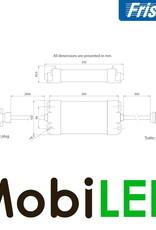 Fristom Canbus controlerbox 12 volt 7 functies  (ISO 1724) voor aanhangers zonder connector
