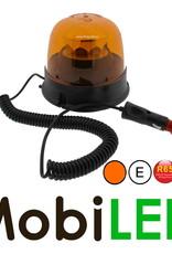Amber zwaai/flits lamp met 8 patronen R65 gecertificeerd magneet