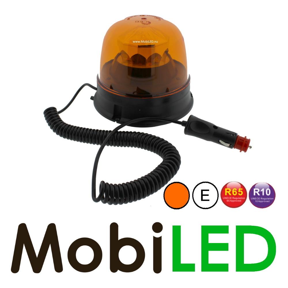 M-LED Amber zwaai/flits lamp met 8 patronen R65 gecertificeerd magneet