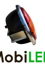 Kunststof Frame voor Hamburger dik achterlicht met chroom look