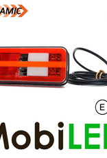 WAS WAS NEON look dynamic achterlicht  E-keur 5 functies 12/24 volt
