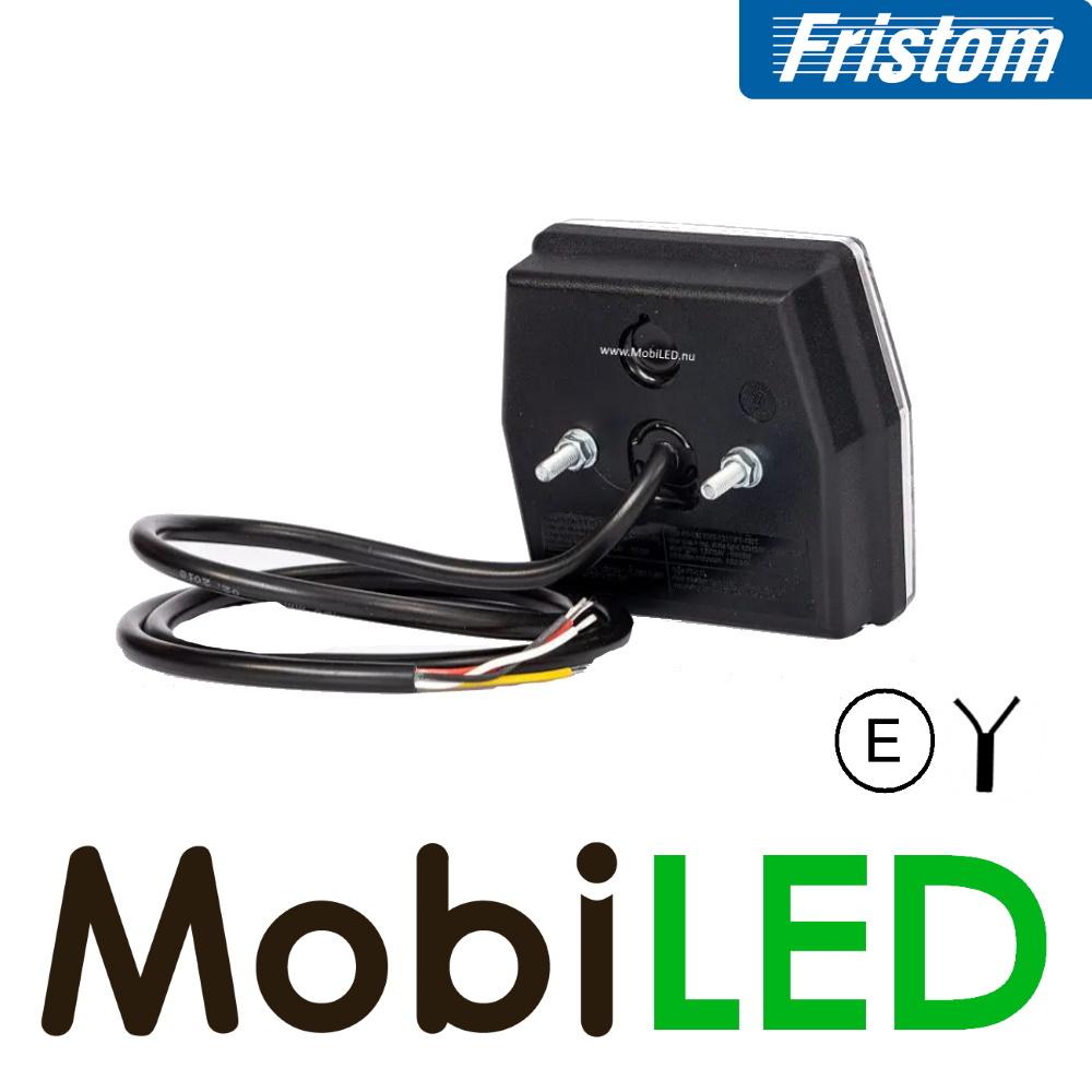Fristom Fristom NEON look 6-kant achteruitrijlicht 2 functies E-keur
