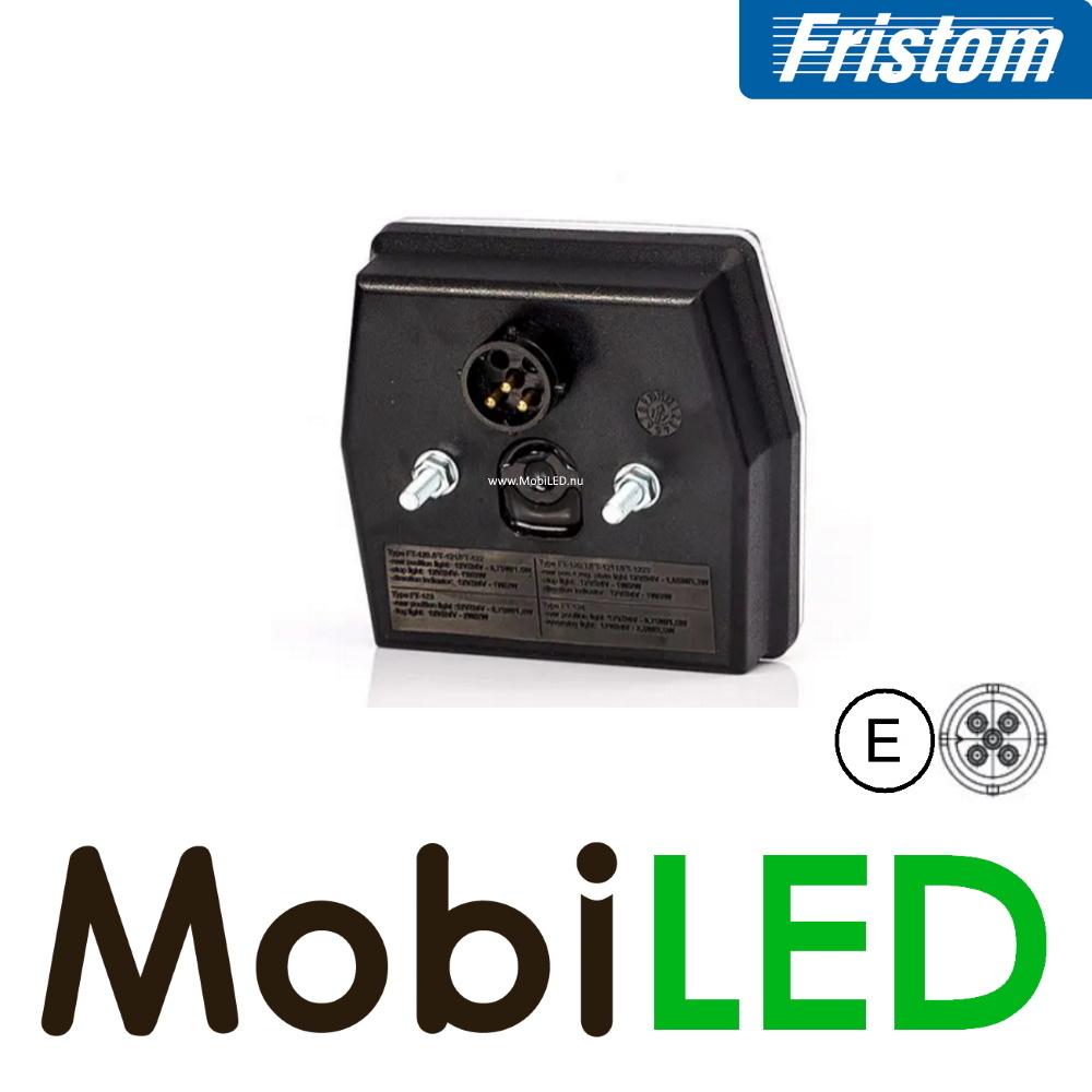 Fristom Fristom NEON look 6-faces feu de position 2 fonctions E-mark baïonnette