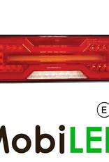 Achterlicht 5 functies  met reflector Links E-keur