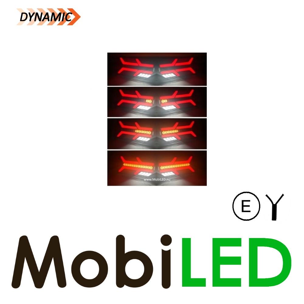 Dynamisch NEON look Achterlicht 5 functies Links E-keur