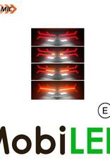 Dynamisch NEON look Achterlicht 5 functies Rechts E-keur