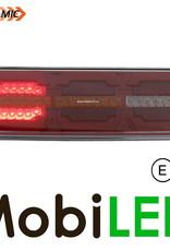 Dynamisch NEON achterlicht 5 functies langwerpig E-keur