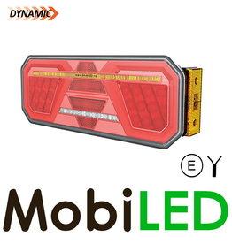 Dynamisch NEON achterlicht 5 functies rechts zijmarkering