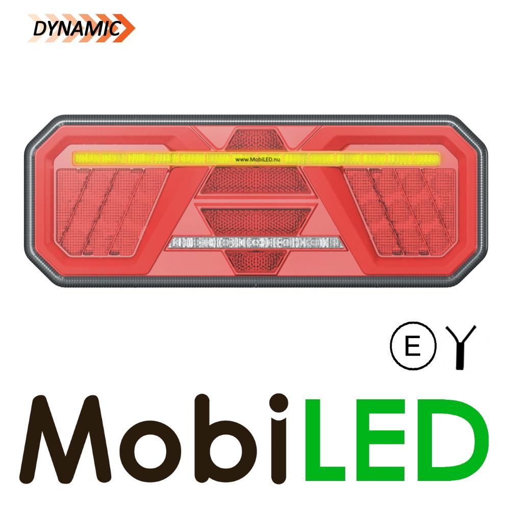 Dynamisch NEON achterlicht 5 functies links E-keur
