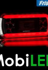 Fristom Neon achterlicht 4 functies (mist) met kentekenverlichting