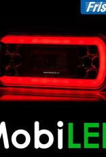 Fristom Neon achterlicht 4 functies (mist) bajonet met kentekenverlichting