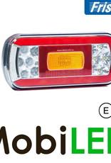 Fristom Neon achterlicht 4 functies (achteruit) met kentekenverlichting
