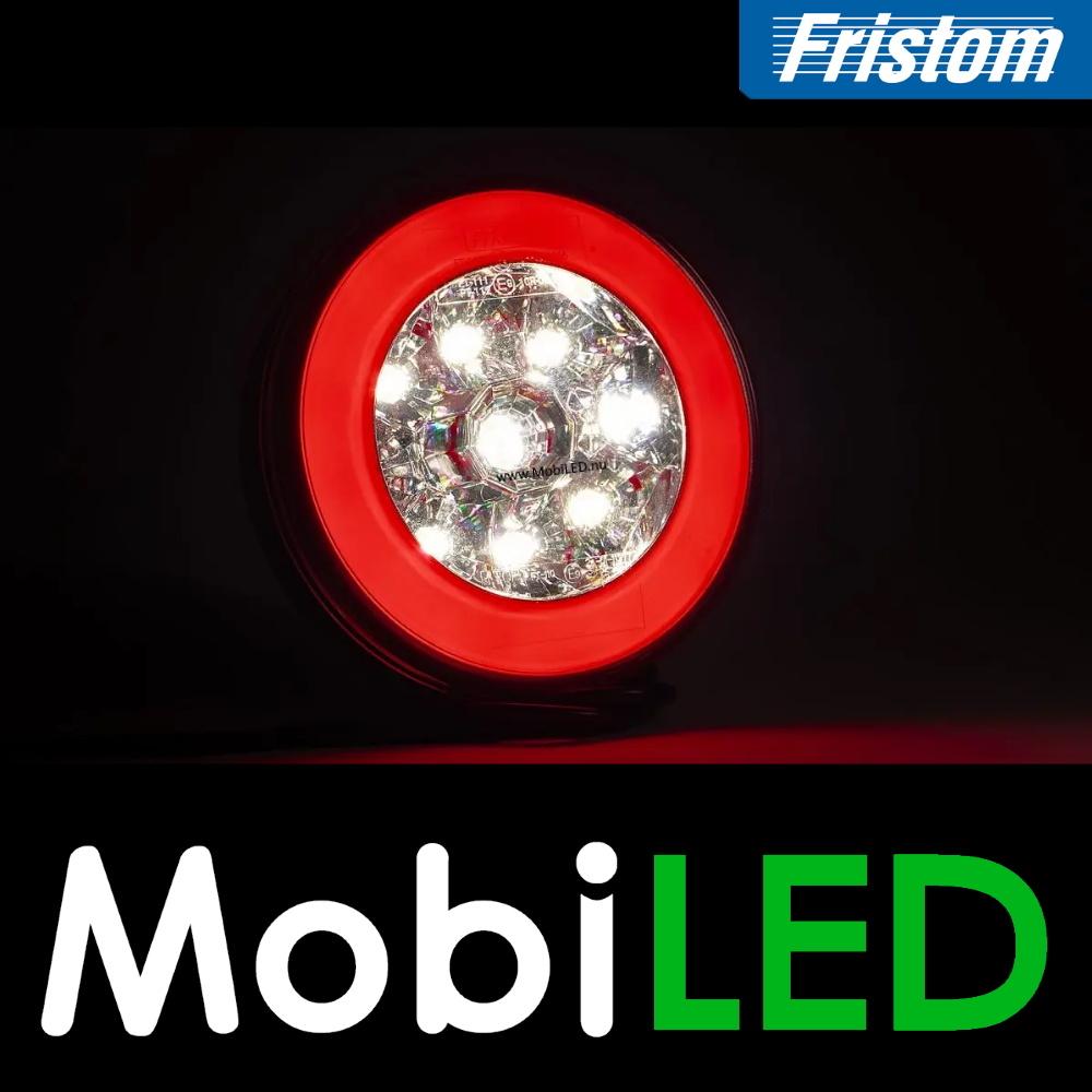 Fristom Neon look rond achterlicht en achteruitrijlicht kabel