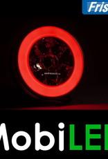 Fristom Neon look rond achterlicht en achteruitrijlicht bajonet