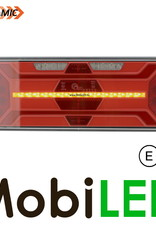 Dynamisch NEON achterlicht 5 functies links E-keur zijmarkering en kenteken