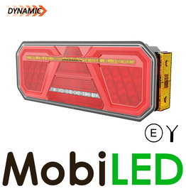 Dynamique NEON feu arrière remorque droite marqueur latéral
