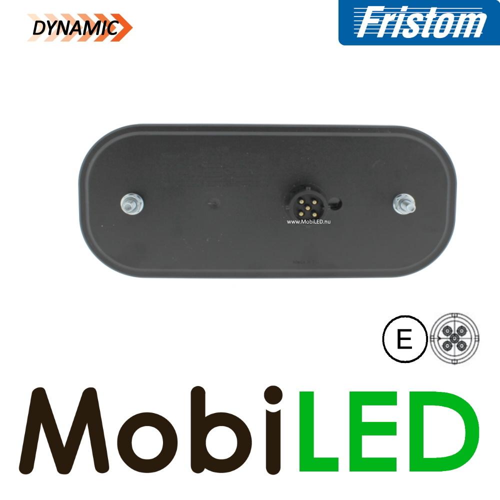 Fristom Achterlicht 4 functies (mist) kenteken bajonet FT-230 E-keur