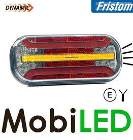 Fristom Feu arrière 4 fonctions (recul) plaque d'immatriculation câble