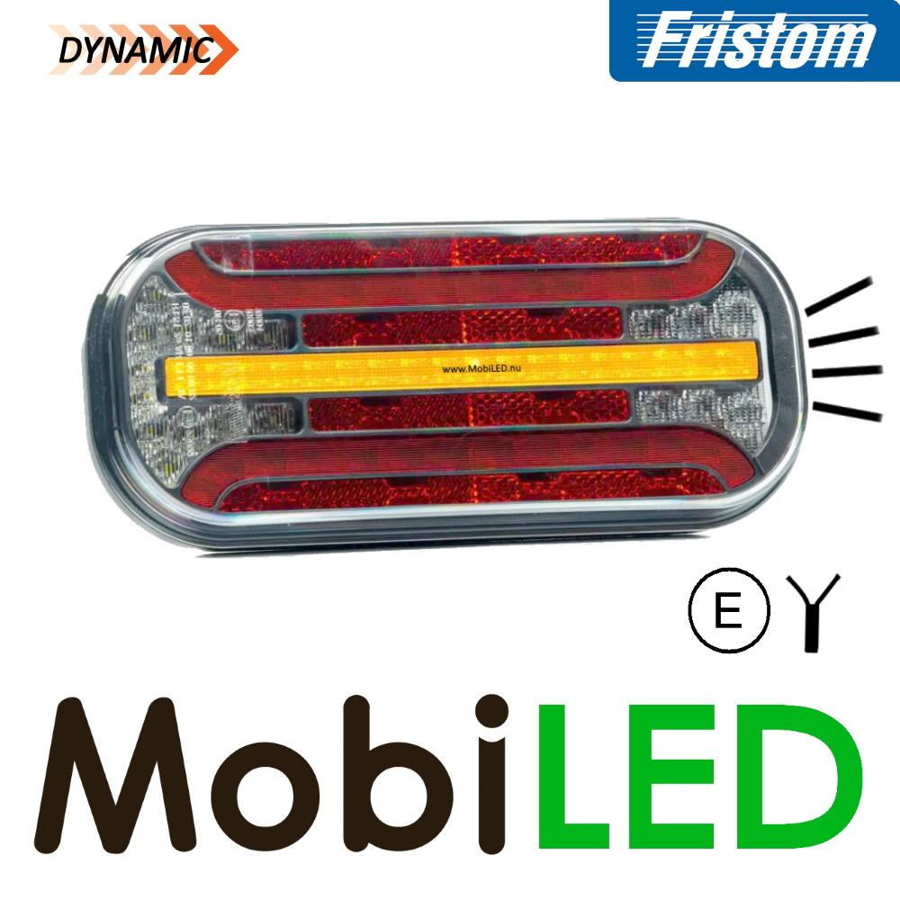 Fristom Achterlicht 4 functies (achteruit) kenteken kabel FT-230 E-keur