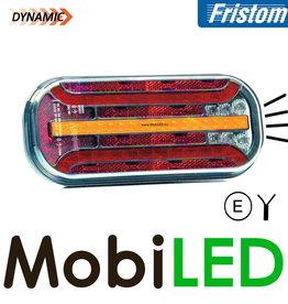 Fristom Feu arrière 4 fonctions (brouillard) plaque d'immatriculation câble
