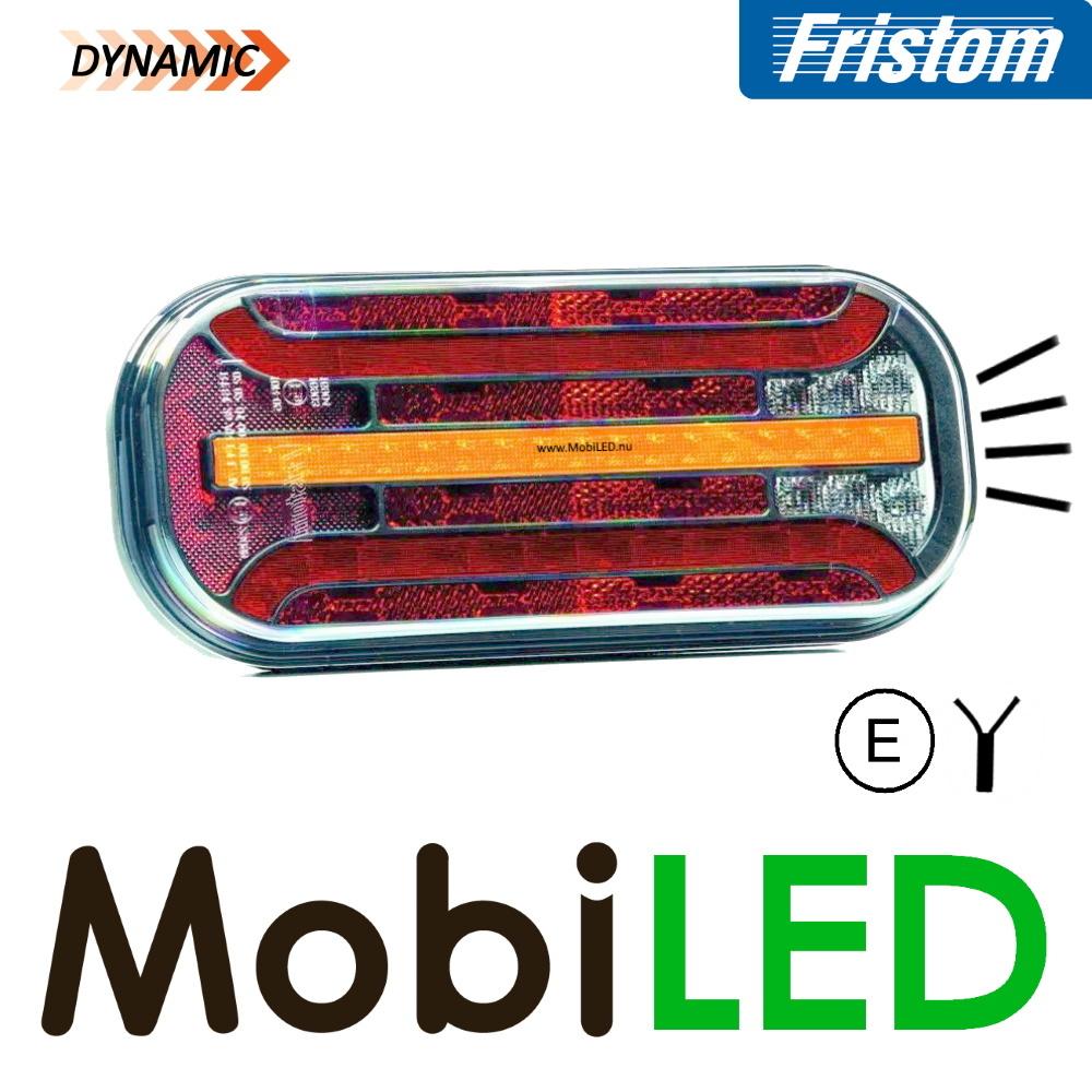 Fristom Achterlicht 4 functies (mist) kenteken kabel FT-230 E-keur