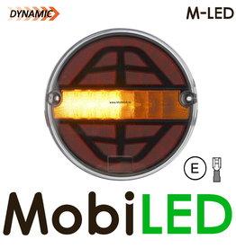 M-LED Dynamisch Rond achterlicht Links E-keur