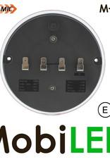 M-LED Dynamisch rond achterlicht E-keur 9-33 volt 3 functies Rechts