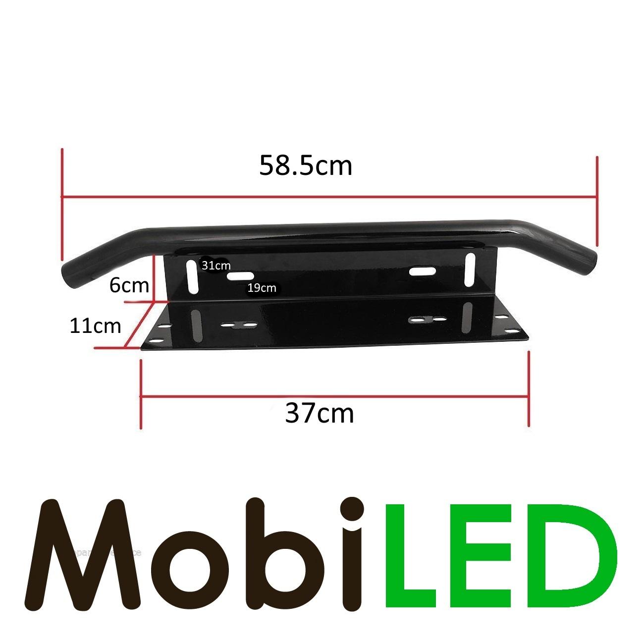 Actieset: 126w combo beam LED bar + aansluitset + bumpersteun