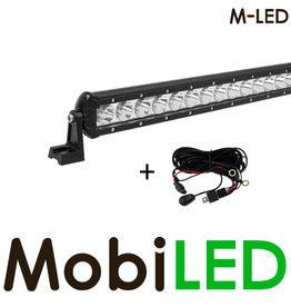 M-LED Slimline 63 watt led bar + aansluitset