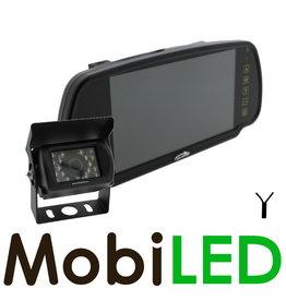 Kit de caméra de recul pour miroir avec fil