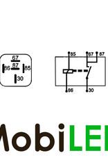 Relais 24 volt 20 ampère