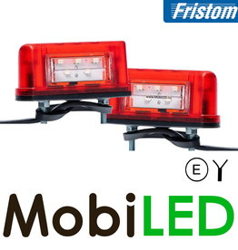 Fristom Set Multifunctionele Kentekenverlichting klein