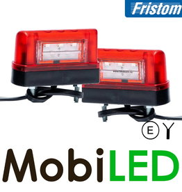 Fristom Set Multifunctionele Kentekenverlichting groot