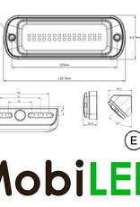 WAŚ  platte werklamp langwerpig E-keur