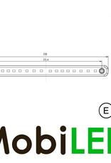Achterlicht 12-24v 2 functies E-keur