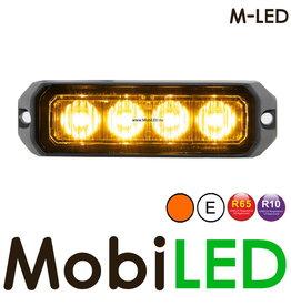 M-LED Flitser Amber Pro 4 Compact R65