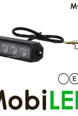 M-LED Flitser Wit Pro 4 Compact 12-24 volt