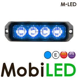 M-LED Flitser Blauw Pro 4 Compact R65