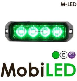 M-LED Flitser Groen Pro 4 Compact