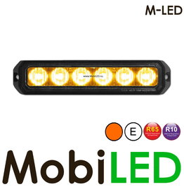 M-LED Flitser Amber Pro 6 Compact R65