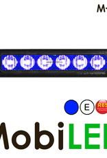M-LED Flitser Blauw Pro 6 Compact R65 12-24 volt