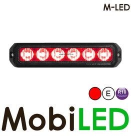 M-LED Flitser Rood Pro 6 Compact
