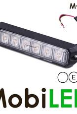 M-LED Flitser Wit Pro 6 Compact 12-24 volt