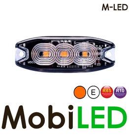 M-LED M-LED Flash orange super fin 3 Led E-mark