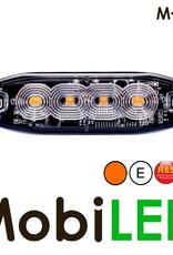 M-LED M-LED Super dunne amber flitser 4 Leds E-keur