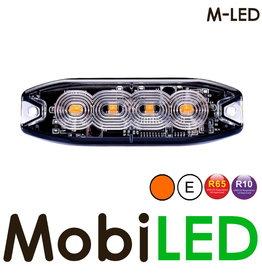 M-LED M-LED Flash orange super fin 4 Led E-mark