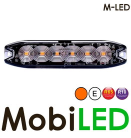 M-LED M-LED Flash orange super fin 6 Led E-mark