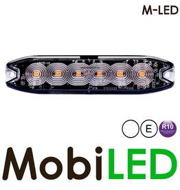 M-LED M-LED Flash blanc super fin 6 Led E-mark
